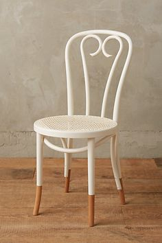 kitchen chair option - Scrolled Bentwood Dining Chair, Heart #anthropologie