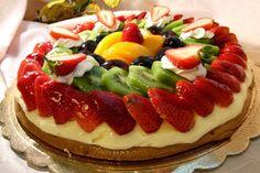 Me Encanta el Chocolate: Tarta de chocolate blanco y frutas