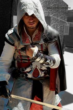 Alessandro Anello: Ezio Auditore from Assassin's Creed II in Otaku House Cosplay Idol 2012