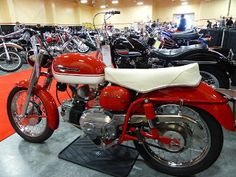 OldMotoDude: 1965 Harley-Davidson/Aermacchi Sprint sold for $8,...