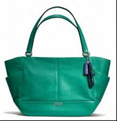 Coach Jade Colored Handbag (Love the Color!)