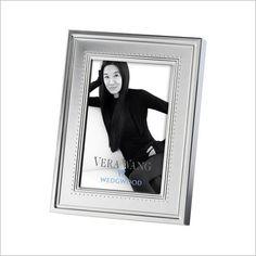 Vera Wang Grosgrain Silver Giftware Frame Wedgwood