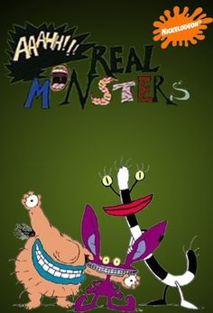 #Nickelodeon #Aaahh!!! #RealMonsters