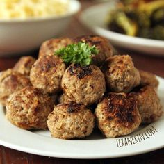 These gluten-free Swedish meatballs use Ricotta cheese in place of breadcrumbs and taste just as amazing as the breadcrumb filled type!