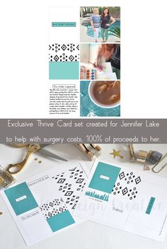 This exclusive card set was created just for Jennifer Lake, to benefit her surgery costs, and the only place you can get it is here https://www.etsy.com/shop/sunlightandair
