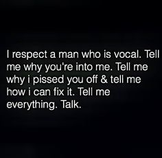 Not just with guys. With every relationship you have. Silence is infuriating.