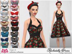 Rockabilly Dress - Colores Urbanos