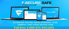 Call 1-800-431-454 a right way to know How to Install F-Secure Internet Security on Your PC with step-by-step process for computer users. It is the complete procedure describing the whole procedure of installing the F-secure internet security on your computer. If there is any technical problem with F-secure internet security installation online support available with antivirus support.