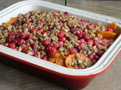 Sweet Potato Cranberry Casserole 15 Easy Casseroles To Bring To Thanksgiving Traditional Thanksgiving Recipes, Easy Thanksgiving Recipes, Thanksgiving Side Dishes, Holiday Recipes, Holiday Foods, Thanksgiving Meal, Thanksgiving Traditions, Cranberry Recipes, Christmas Dishes