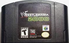Wrestlemania 2000 - N64 Game