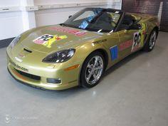 Folierung einer Corvette Z06