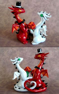 Clay Dragons - Wedding - Gift - Ideas - His and Hers