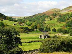 Swaledale in the Yorkshire Dales by JauntyJane, via Flickr