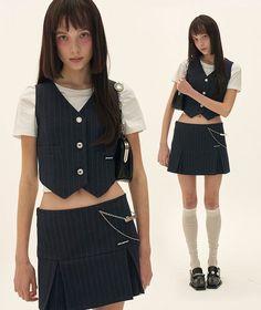 Moda Aesthetic, Aesthetic Clothes, Look Fashion, 90s Fashion, Fashion Outfits, Pretty Outfits, Cool Outfits, Looks Dark, Alternative Outfits