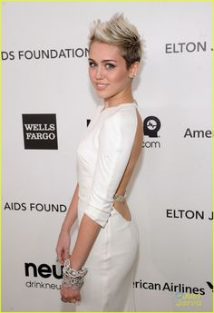 I may be the only one besides Miley who still likes the femme fauxhawk but whatever. next haircut?