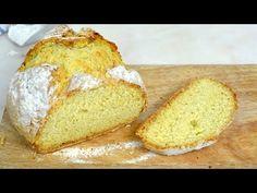 Pan de soda irlandés. Cómo hacer pan sin levadura. Receta paso a paso con vídeo