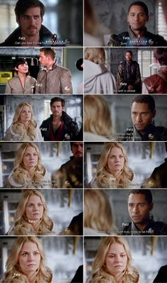 "Hook, Emma and Merlin - 5 * 5 ""Dream Catcher"" #CaptainSwan"