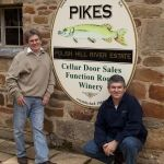 Andrew Pike (left) Neil Pike at Pikes wines in the Clare Valley Clare Valley, Wines, Spaces