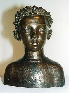 Paul Belmondo - buste de son fils Jean-Paul