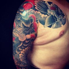 Kiwiana Birds Tattoo by Adam Craft - The Tattooed Heart