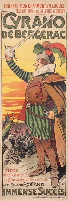 Cyrano de Bergerac by Metivet, Lucien | International Poster Gallery