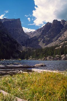Dream Lake, Rocky Mtn. Park