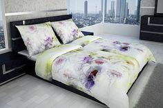Nežné kvety, pestré farby a luxusný materiál. Obliečky sú nežehlivé ;-)