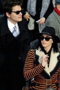 John Mayer and Katy Perry (2013)