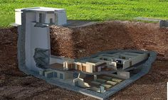 This 20,000 ton Nuclear Blast Proof Bunker Can Save Your Life