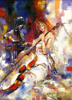 Дред, Девушка и виолончели