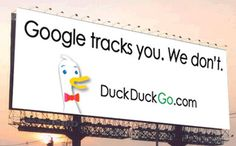 """Going to try this. """"For a couple of reasons, I could agree with the idea that search is relatively personal,"""" says DuckDuckGo founder Gabriel Weinberg. """"It's creepy to have the search engine tracking you. Google Play, Alternative Search Engines, Digital Literacy, Old Computers, Internet, English, Search Engine Optimization, How To Get Money, Google News"""