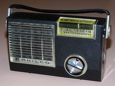 Vintage Philco Model T89-124 Transistor Radio, Broadcast Band Only (MW), 8 Transistors, Made In USA, Circa 1962.