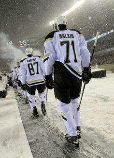 Crosby & Malkin Pittsburgh Penguins