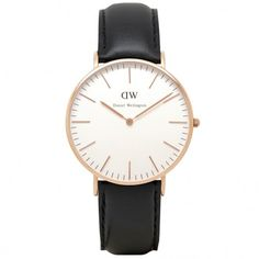 Women's Classic Sheffield Watch in Rose Gold by Daniel Wellington treating myself to this on payday