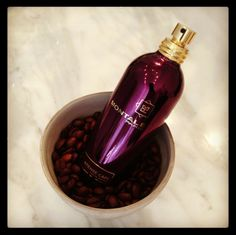 Who knew coffee could smell this good?  Everything you love about a warm latte, mixed up with rose, vanilla, and amber notes - Intense Cafe from Montale has a cult following here at Scent Bar.  #niche #perfume #french #luckyscent #scentbar
