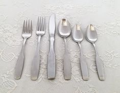 48-Pc. Paul Revere by Community/Oneida Stainless Steel Flatware Set /Service for 8 by EastSideBazaar on Etsy