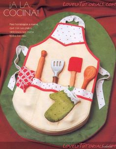 Carved Apron cake tutorial via lovely tutorials