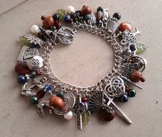 The Quilt List: Outlander Series Charm Bracelet
