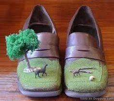 Zapatos Raros green