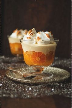 Winter clementine trifle looks like a great way to modernize an old recipe of my grandmothers