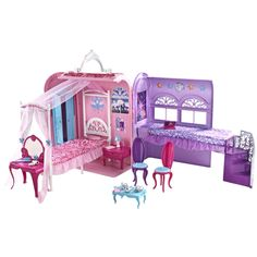Barbie Prinses Slaapkamer Speelset | Family ❤ My Babygirl ...