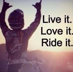 Im living a motocross life Motocross Quotes, Dirt Bike Quotes, Biker Quotes, Motorcycle Quotes, Motocross Girls, Funny Motorcycle, Women Motorcycle, Motorcycle Helmets, Biker Chick