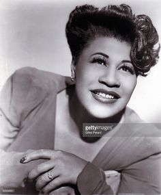 Photo d'actualité : Photo of Ella FITZGERALD; Posed portrait of Ella...