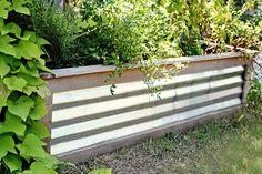 Cedar and Tin Herb or Flower Planter Box by deltaboyfurnishings, $175.00