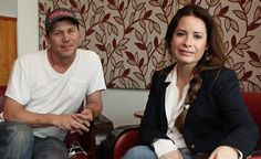 Brian Krause and Holly Marie Combs