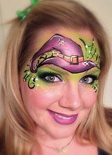 pretty witch face painting - Google Search