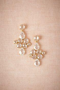 bhldn gilded waterdrop earrings