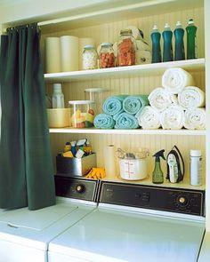 laundry-room 15 Ide Keren Untuk Membuat Rumahmu Selalu Rapi