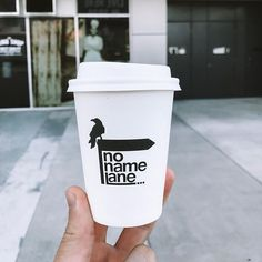 Country: 🇦🇺 Location: Gold Coast, Australia Cafe: @nonamelane Take Away Coffee Cup, Coffee Cups, Coast Australia, Cafe Design, Gold Coast, Mugs, Country, Tableware, Instagram