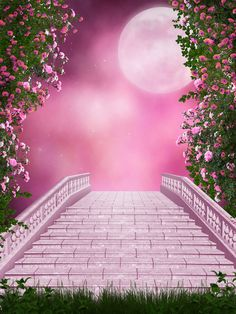 """Photo from album """"Pink_Garden"""" on Yandex. Photoshop Photography, Photography Backdrops, Nature Photography, Photography Studio Background, Studio Background Images, Background Drawing, Backgrounds Free, Wallpaper Backgrounds, Wallpapers"""